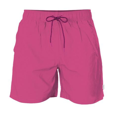 Solid Swim Short // Pink (S)