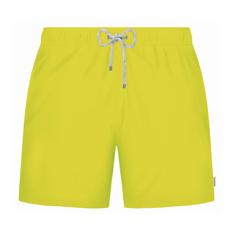 Solid Swim Short // Yellow (S)