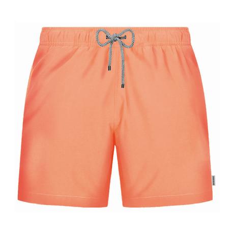 Solid Swim Short // Peach (S)