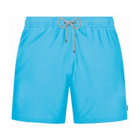 Solid Swim Short // Turquoise (S)