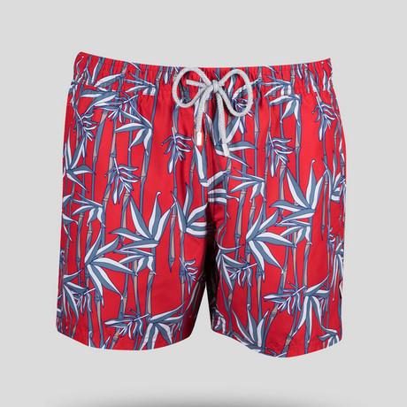 Bamboo Swim Short // Red (S)