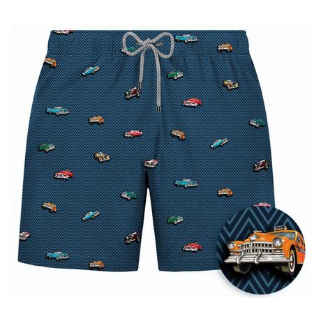 Retrocar Swim Short // Navy (S)