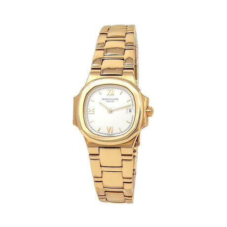 Patek Philippe Ladies Nautilus Quartz // 4700/51 // Pre-Owned