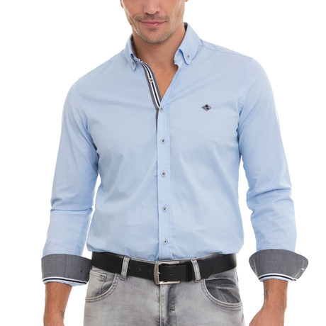 Volcano Shirt // Light Blue (XS)