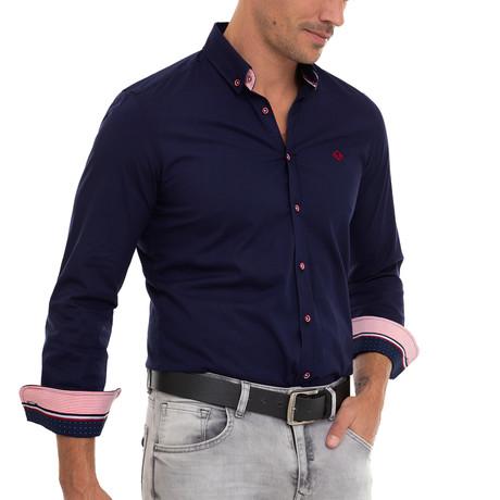 Turner Shirt // Navy (XS)