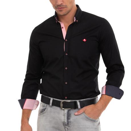Doyle Shirt // Black (XS)