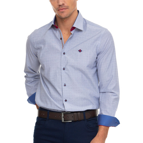 Redan Shirt // Navy (XS)