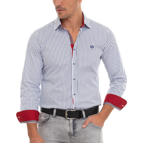 Bassie Shirt // Navy (XS)