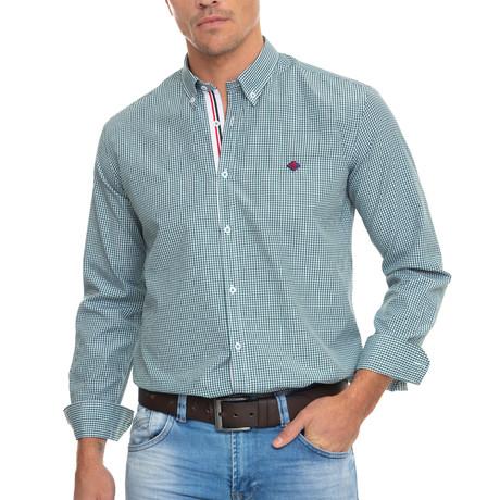 Stakes Shirt // Green (XS)