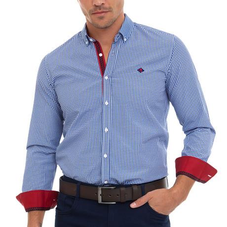 Osborn Shirt // Blue (XS)