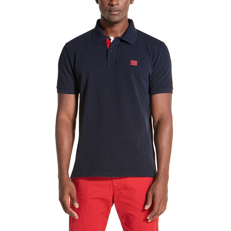 Ford Polo Shirt // Navy Blue (S)