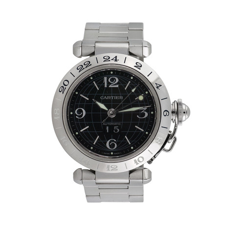 Cartier Pasha C GMT Automatic // 2550 // Pre-Owned