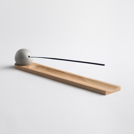 Elysian Incense Burner // White Oak