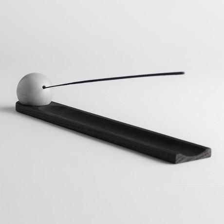 Elysian Incense Burner // Ebony Oak