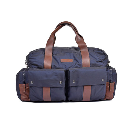 Brunello Cucinelli // Duffel Bag // Blue