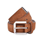 "Suede Belt // Brown (37"" Length)"