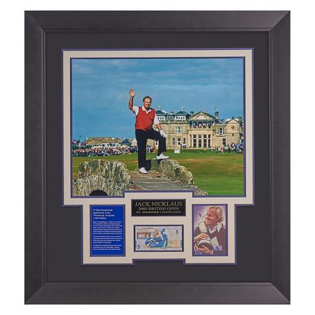 Jack Nicklaus // Farewell // Autographed Display