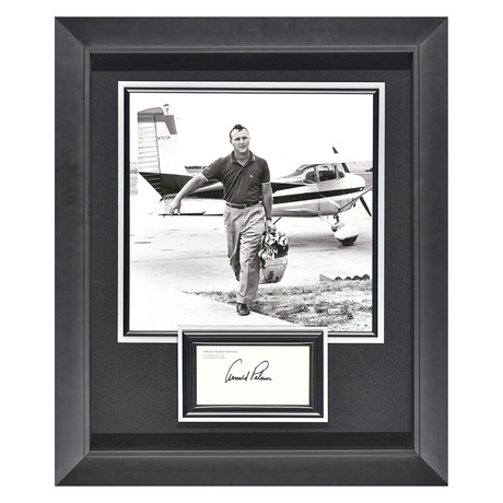 Arnold Palmer // Autographed Display