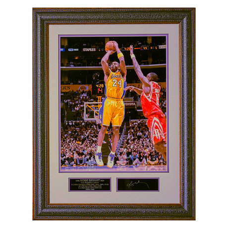 Kobe Bryant ESS // Facsimile Signature Display