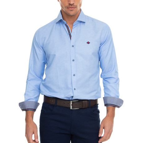 Pin Shirt // Blue (XS)
