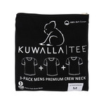 Essentials Crew Neck Short-Sleeve Tee // Black // Pack of 3 (L)