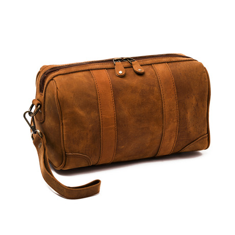 Rasage Toiletry Kit // Distressed Brown