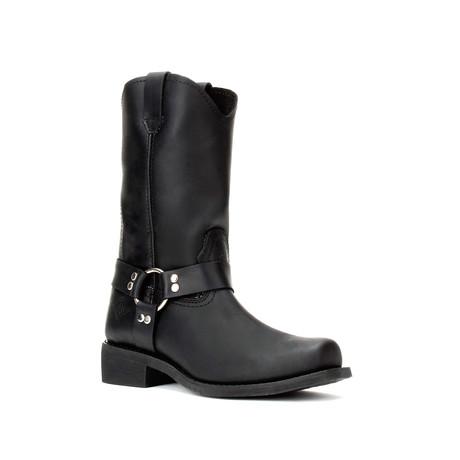 Bonanza // Men's 12'' Biker Boots // Black (US: 5)