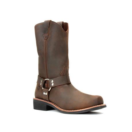Bonanza // Men's 12'' Biker Boots // Brown (US: 5)