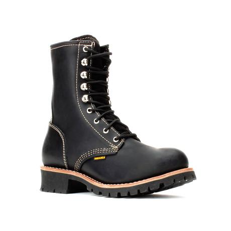 Bonanza // Men's 9'' Logger Boots // Black (US: 5)