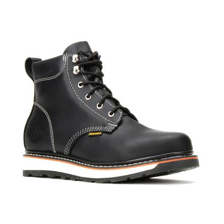 Bonanza // Men's 6'' Dual Density Round-Toe Boots // Black (US: 5)
