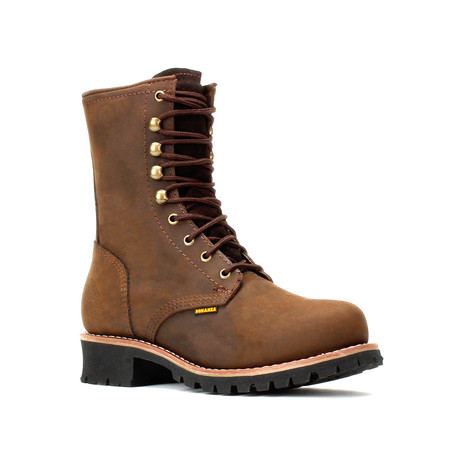 Bonanza // Men's 9'' Logger Boots // Brown (US: 5)