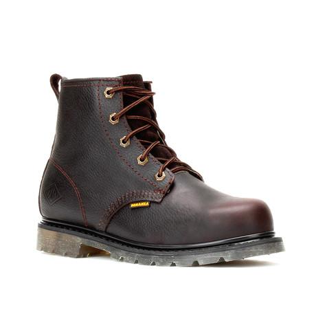 Bonanza // Men's 6'' Round Toe Boots // Brown (US: 5)