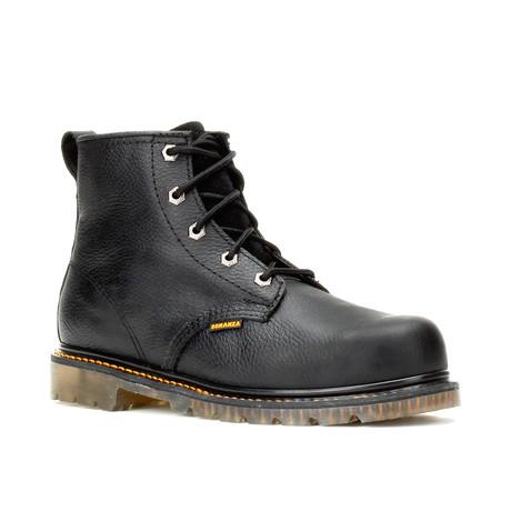 Bonanza // Men's 6'' Round Toe Boots // Black (US: 5)