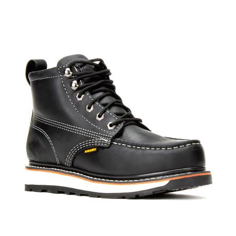 Bonanza // Men's 6'' Dual Density Moc-Toe Boots // Black (US: 5)