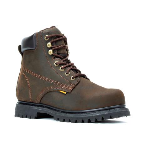Bonanza // Men's 6'' Round-Toe Boots // Brown (US: 5)