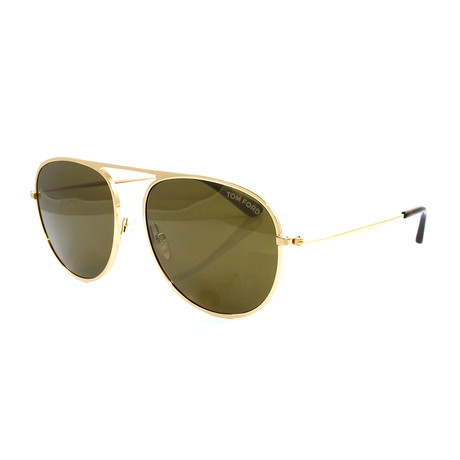 Men's FT0621S Sunglasses // Gold