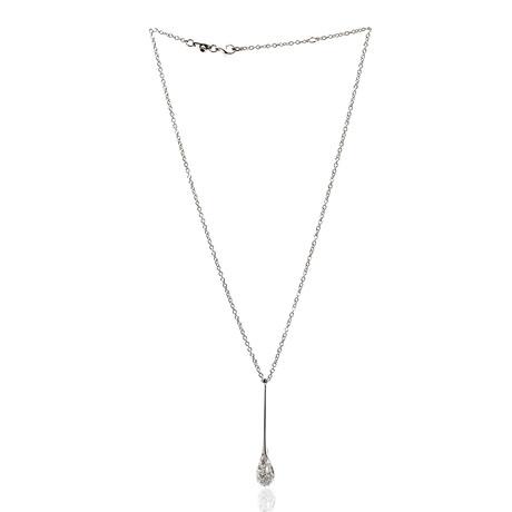 Roberto Coin 18k White Gold Diamond Pendant Necklace