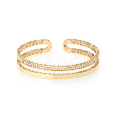 Roberto Coin 18k Yellow Gold Diamond Bracelet I