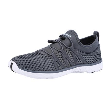 Men's Quick Drying Aqua Water Shoes // Dark Gray (US: 7)