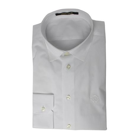 Bartolomeo Slim Fit Dress Shirt // White (US: 15R)
