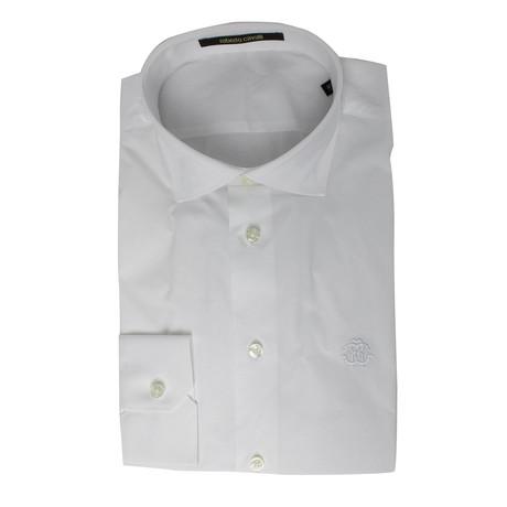 Lorenzo Slim Fit Dress Shirt // White (US: 15R)