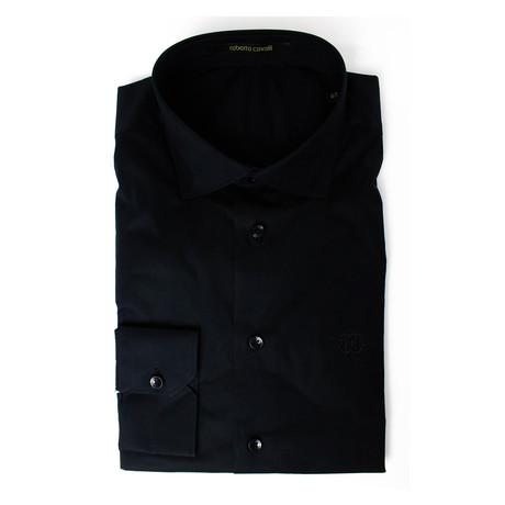Giovanni Comfort Fit Dress Shirt // Black (US: 15R)