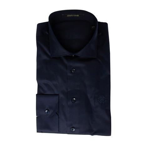 Antonio Comfort Fit Dress Shirt // Navy (US: 15R)