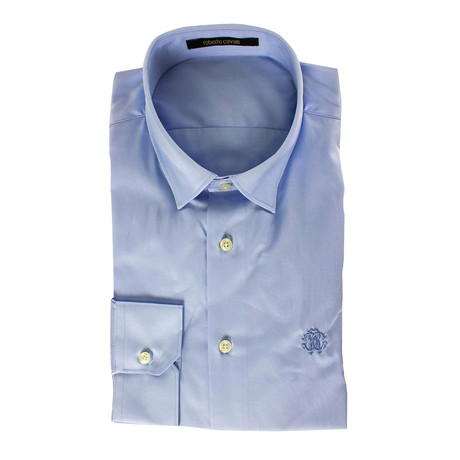Niccolo Slim Fit Dress Shirt // Light Blue (US: 15R)