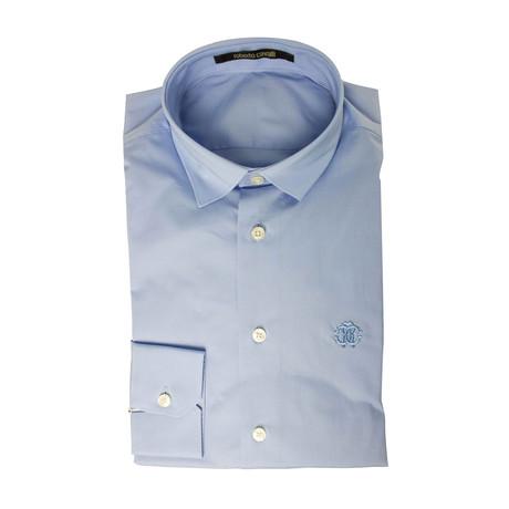 Lacopo Slim Fit Dress Shirt // Light Blue (US: 15R)