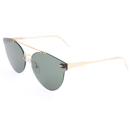 Unisex Giaguaro Sunglasses // Gold