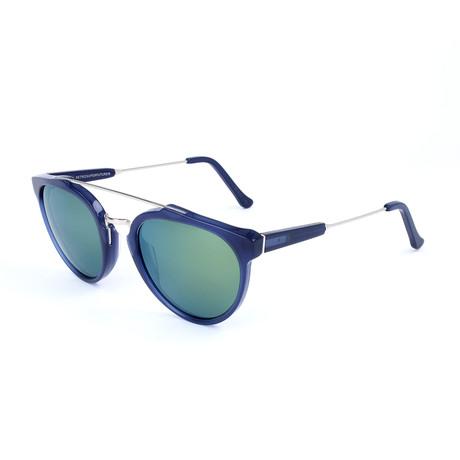 Men's Giaguaro Sunglasses // Dark Blue