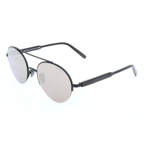 Unisex Cooper Monochrome Sunglasses // Black
