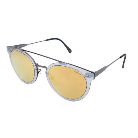 Men's Giaguaro Sunglasses // Silver