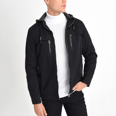 Everest Jacket // Black (2XL)